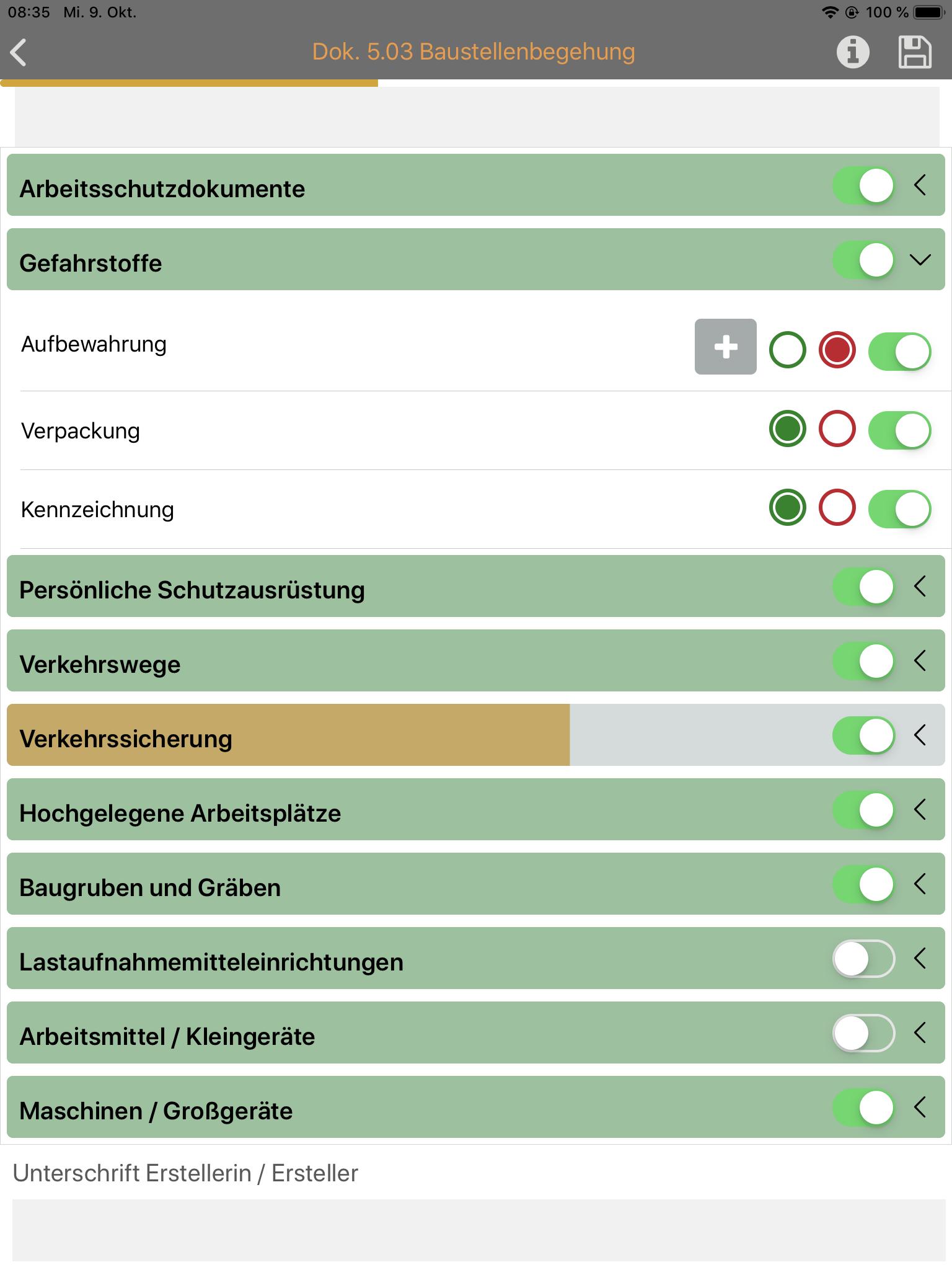 Funktion3_Checklisten